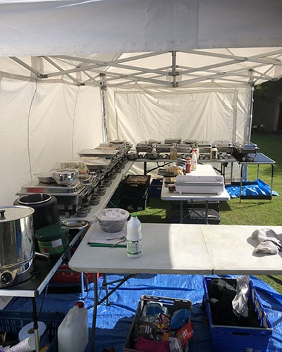 EcoBurner for catering events